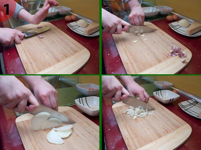 Paso 1: Espagueti Carbonara