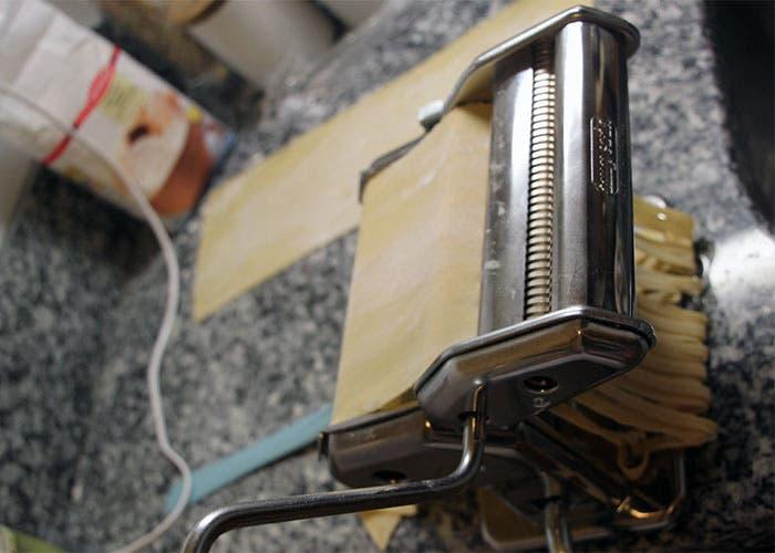 Paso 5 de la pasta fresca