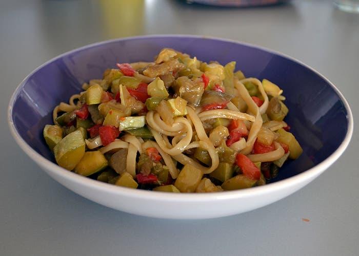 Genial cocinar en wok verduras galer a de im genes for Como cocinar verduras
