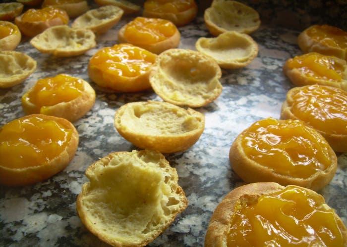 Receta de Profiteroles, Pasta Choux rellena