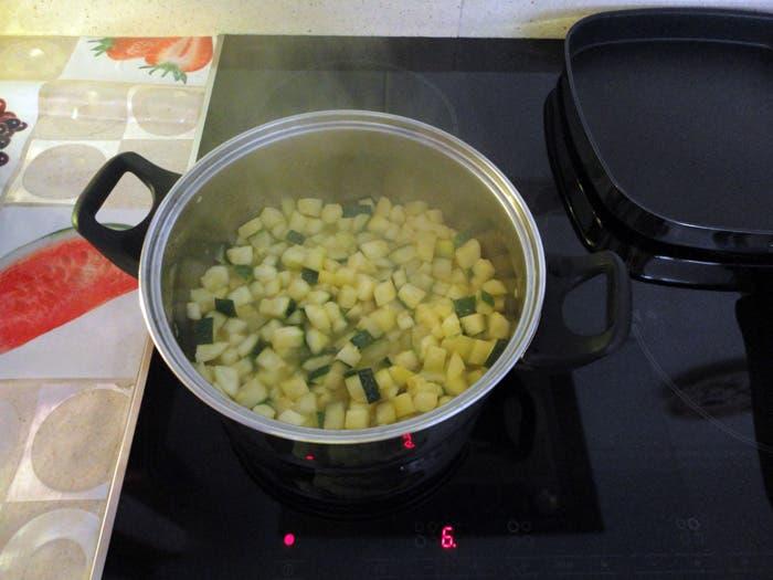 Receta de puré casero de calabacín y patata