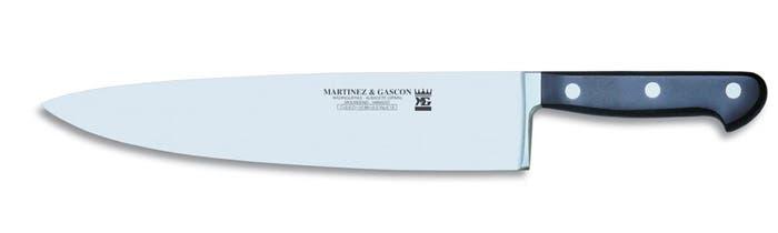 Ejemplo de cuchillo de cocinero