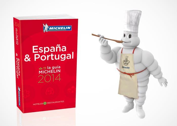 Guía Michelín de España y Portugal para 2014 con Bibendum