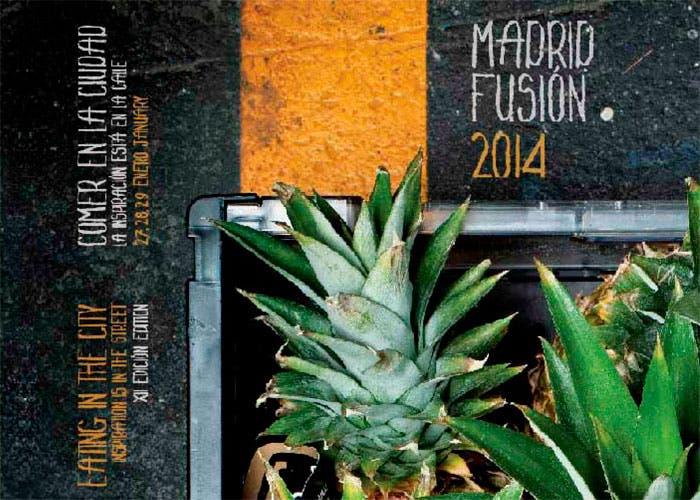 Cartel de Madrid Fusión 2014