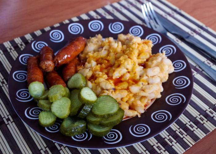 Presentación del plato a la mesa