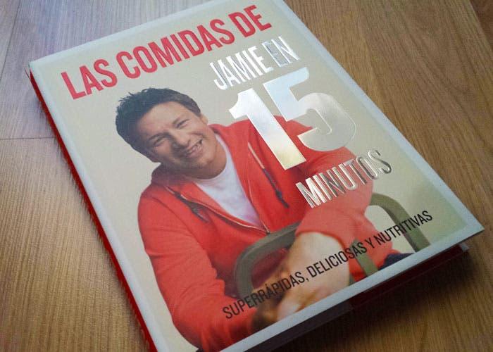 Libro de cocina de Jamie Oliver