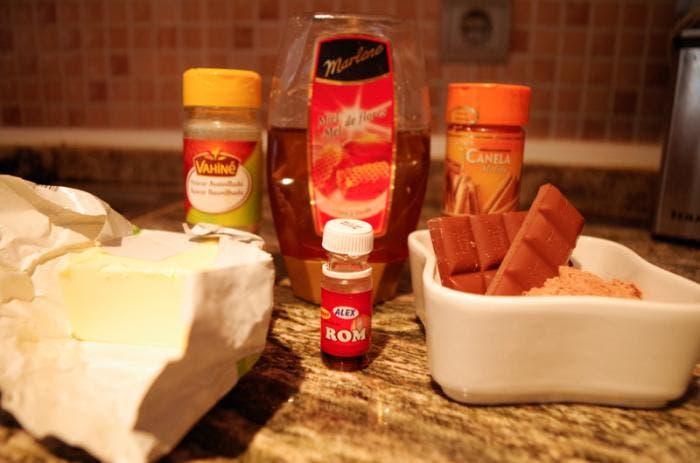 4. Ingredientes para el glaseado