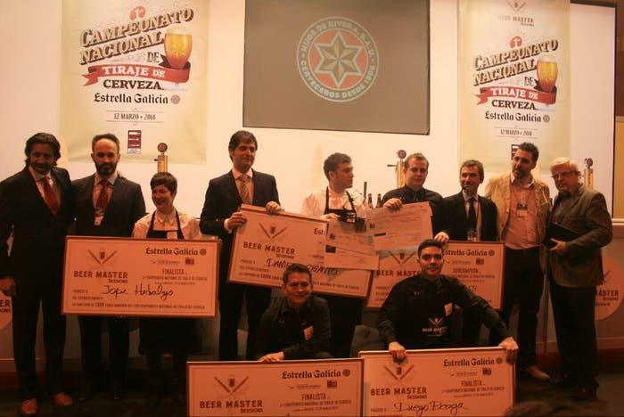 Ganador del Campeonato de España de Tiraje de Cerveza