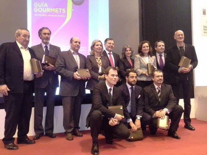 Ganadores de los premios de la guía Gourmets