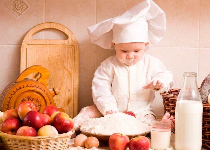 consejos para cocinar con ni os