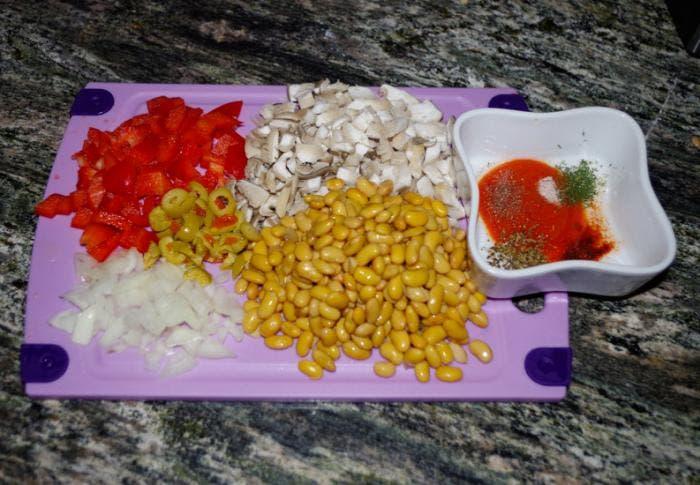 1. Preparamos los ingredientes