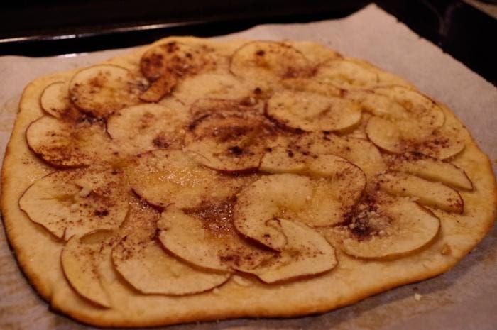 4. Pizza recién sacada del horno