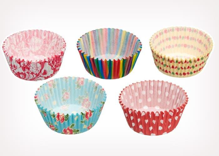 Cápsulas para cupcakes de colores