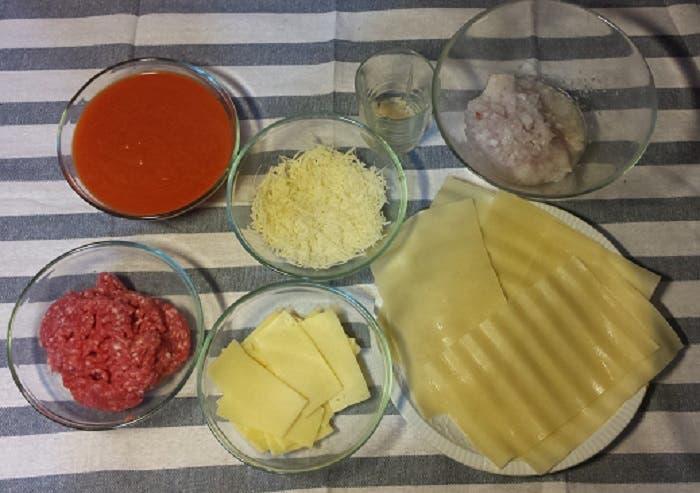 proceso cupcakes de lasaña.