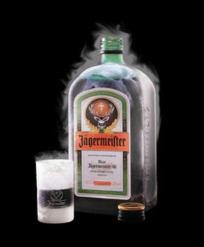 vaso de chupito de Jägermeister