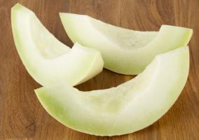 Rodajas de melón piel de sapo