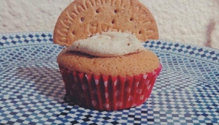 Cupcakes de galletas paso a paso
