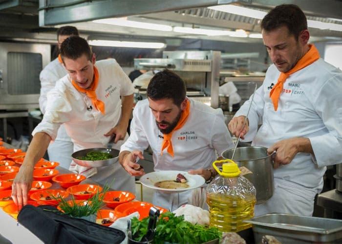 Momento del episodio tercero de Top chef