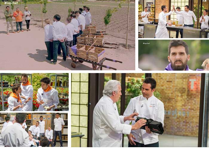 Momentos varios segundo programa Top Chef