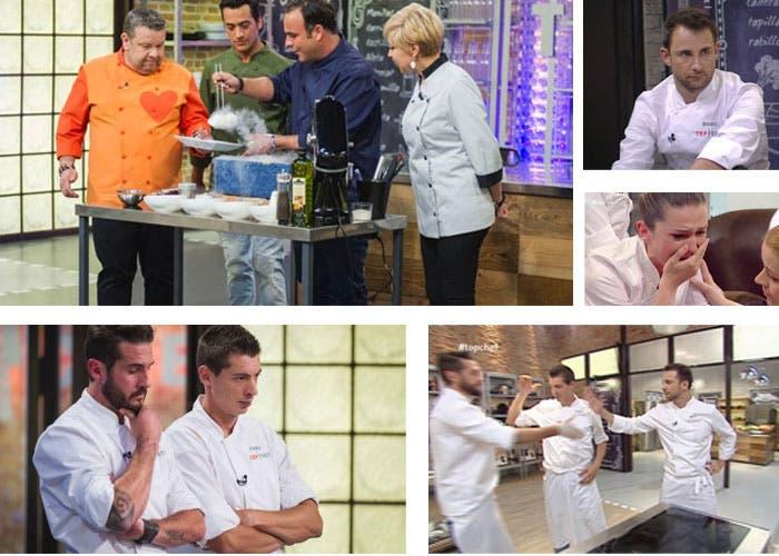 Prueba final de eliminación en Top Chef episodio 3