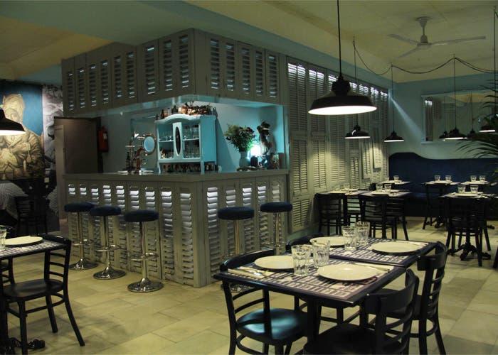 interior restaurante Gumbo en Madrid