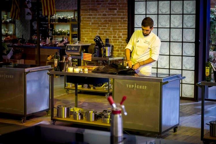 Momento del episodio 10 de Top Chef
