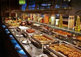 Restaurante con bufet
