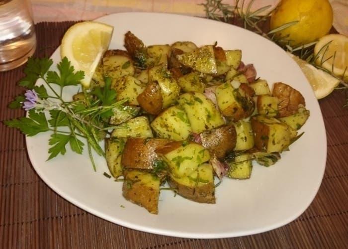 Patatas Especiadas en Microondas