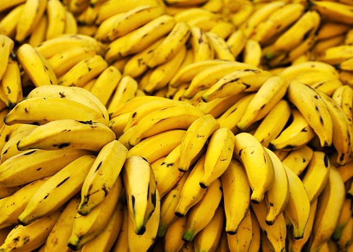 Montaña de plátanos