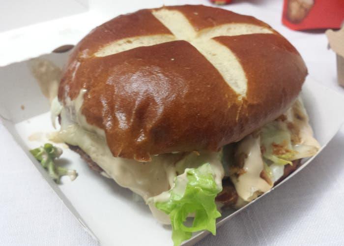 Hamburguesa McDonald's  Bibo de Dani garcía