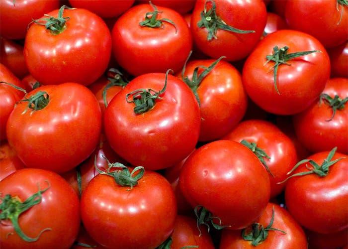 Tomates amontononados