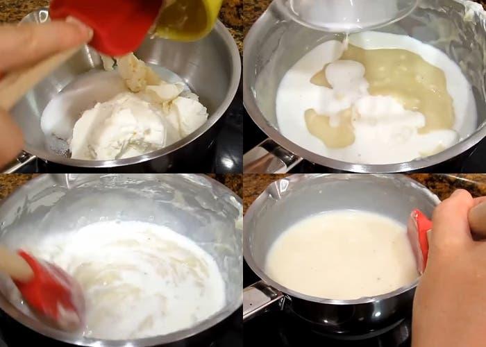 Receta de tarta de galletas Oreo