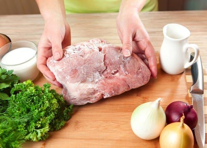 Tips para congelar y descongelar carnes