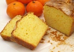 Receta de bizcocho de mandarina