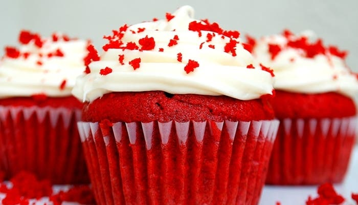 Receta de cupcakes de red velvet