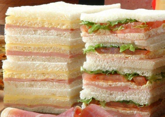 Receta de sándwiches de miga