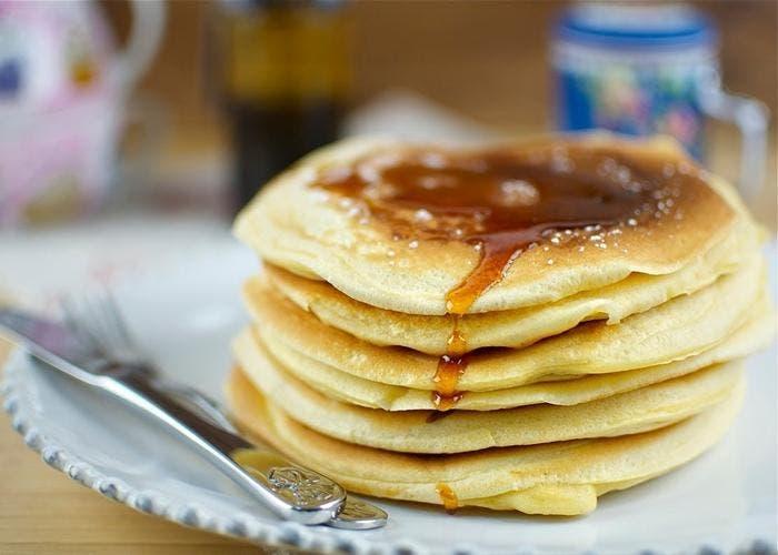 Receta de tortitas americanas para el desayuno o la merienda