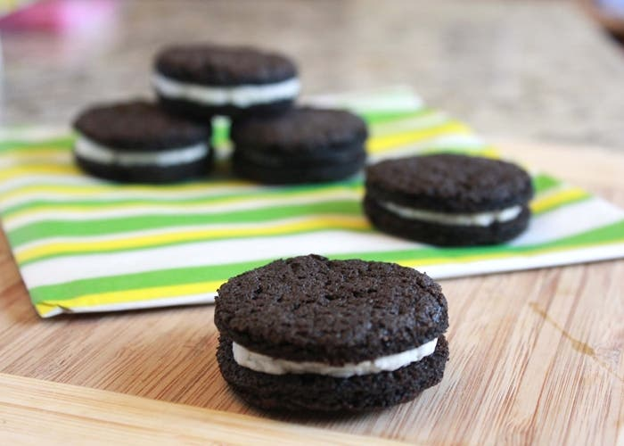 Receta de galletas Oreo caseras