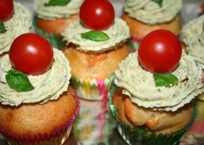 cupcake caprese