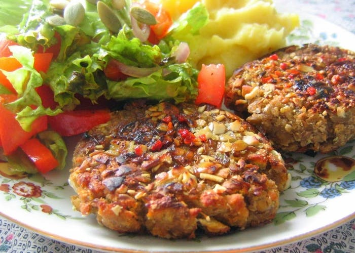 Hamburguesas Vegetarianas De Lentejas Receta Paso A Paso