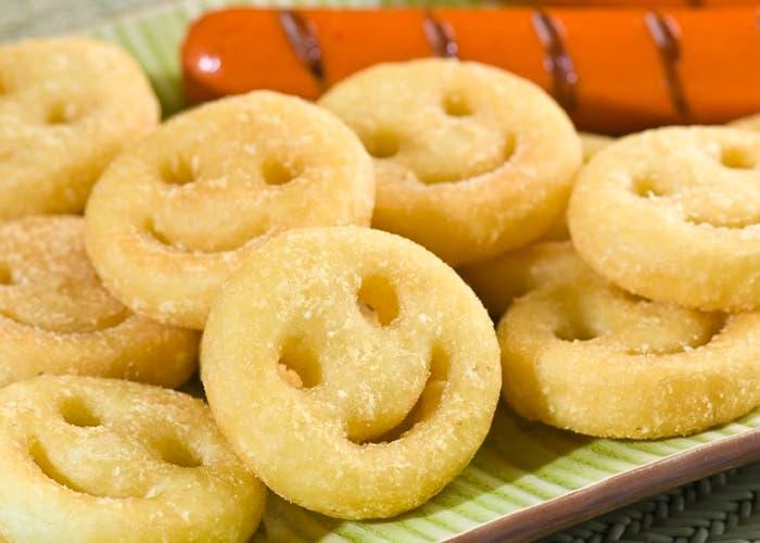 ¿Cómo hacer patatas smiles tipo McCain? Ideal para cocinar con niños