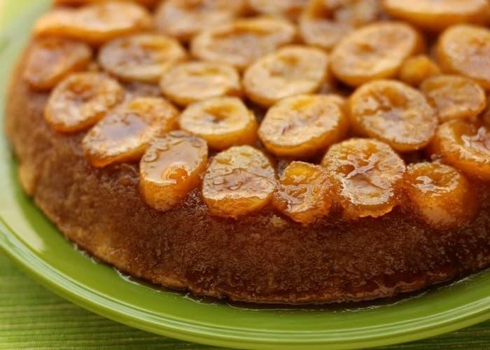 Cake De Manzana Y Banana