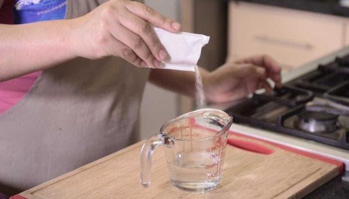 hidratar gelatina