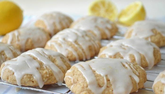 Galletitas de limón y vainilla caseras