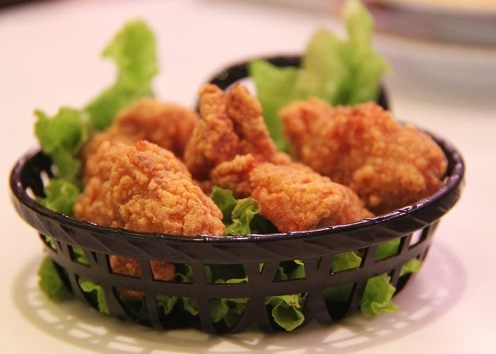 Pollo frito al estilo KFC