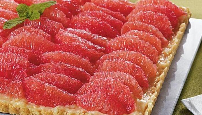 Tarta de pomelo