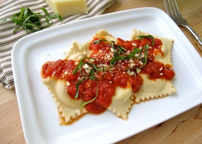 ravioles receta italiana