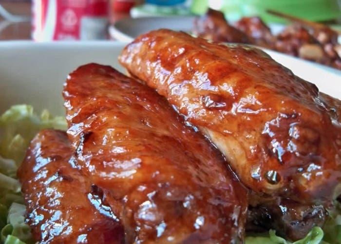 Receta de pollo a la coca cola
