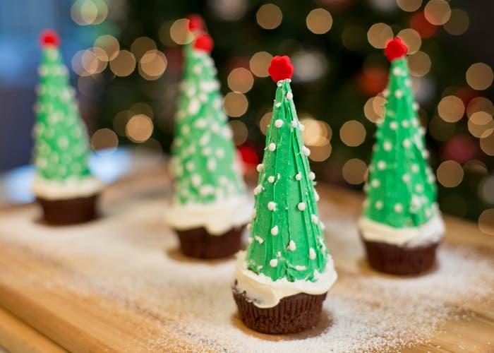Árbol navideño con sorpresa