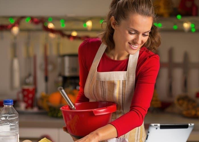 anfitriona de cocina
